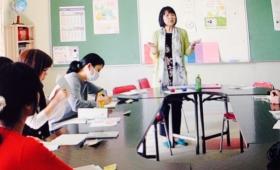 チェレンジ学級で色育講座